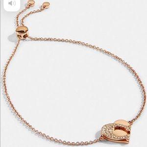 COACH signature slider bracelet♡